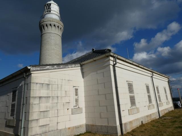 2日角島灯台 9時39