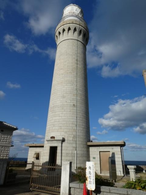 2日角島灯台 9時40