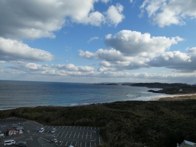 2日角島灯台 9時45-6