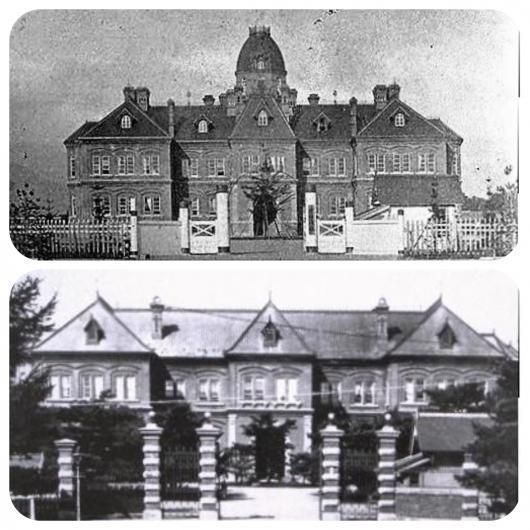 明治30年代本庁舎1