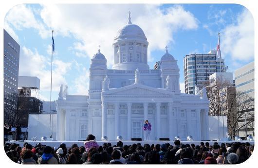 ヘルシンキ大雪像1