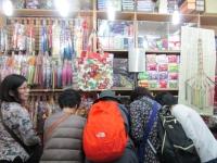 広蔵市場 刺繍のお店