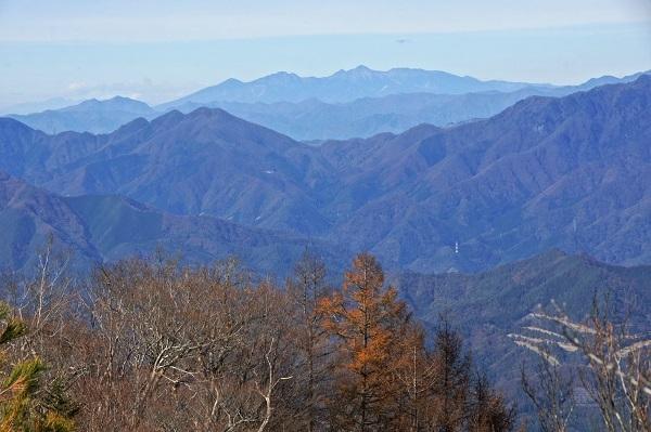 20181117-18 穂高連峰、茅ヶ岳、お坊山、八ヶ岳