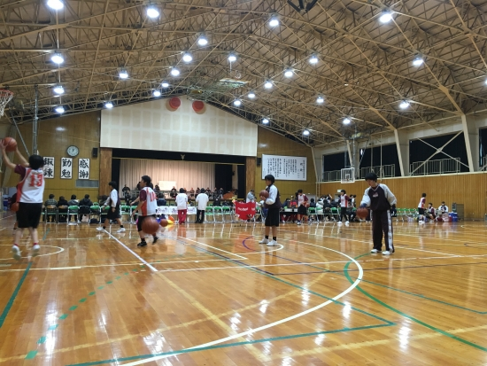 高校バスケ練習試合3日間 011