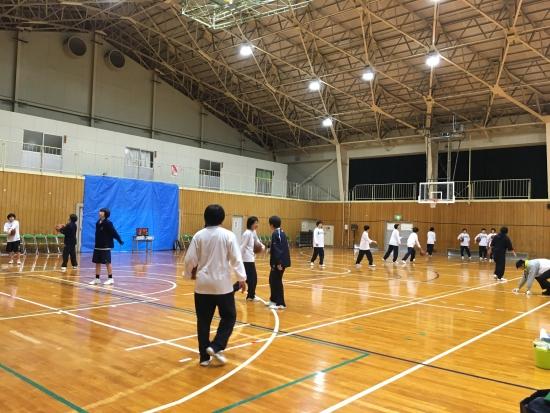高校バスケ練習試合3日間 009