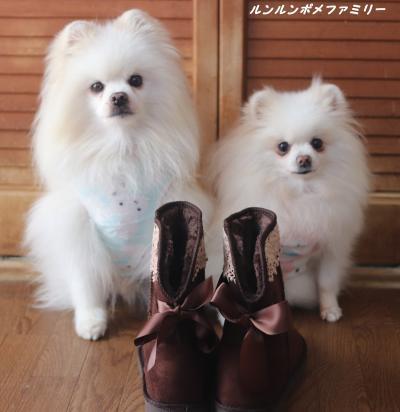 ブーツ リボン