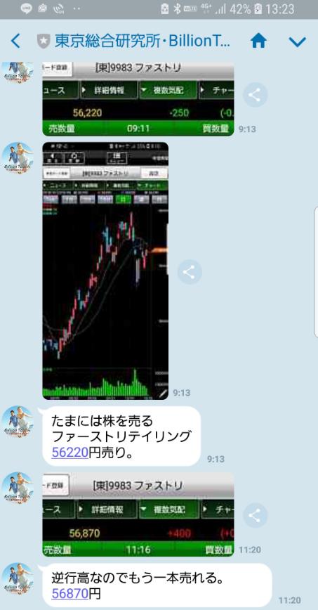 東京総合研究所株式情報20181023