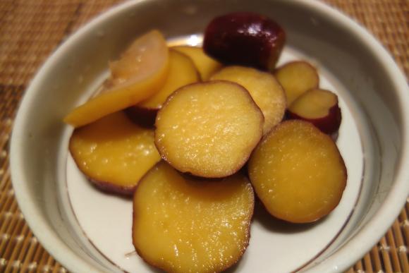 サツマイモのハチミツ檸檬煮06