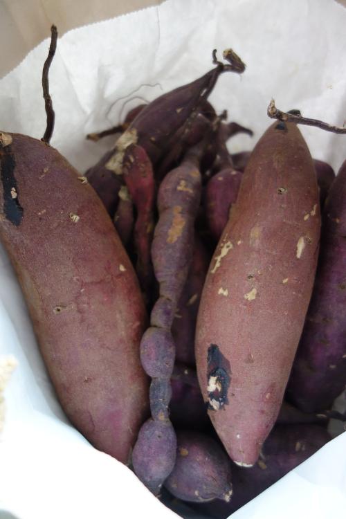 サツマイモのハチミツ檸檬煮01