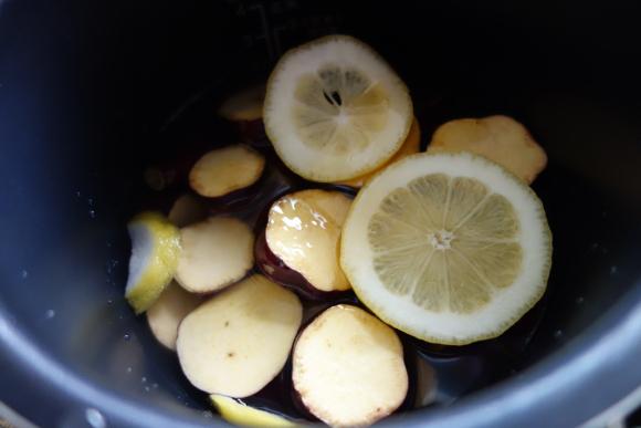 サツマイモのハチミツ檸檬煮04