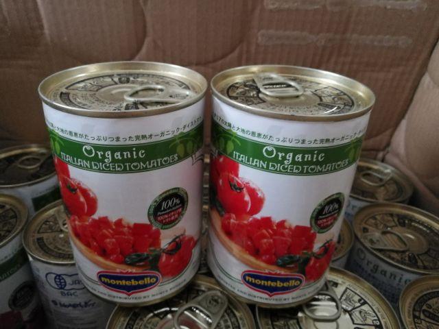 有機ダイストマト缶 モンテベッロ