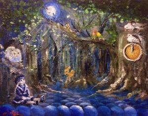 森の鳩時計