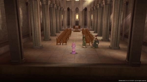 無人の聖堂