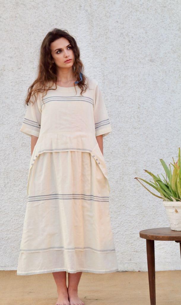 カディ カルカッタの糸 手織りの布
