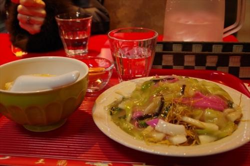 皿うどん 長崎 中華街