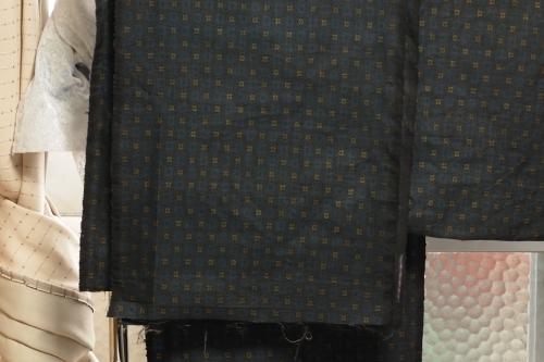 着物を解く作業 着物リメイク