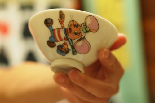 トッポジージョ アンティーク 茶碗