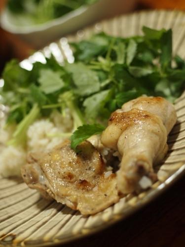 シンガポール風チキンライス 海南鶏飯