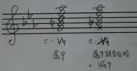 属9の和音