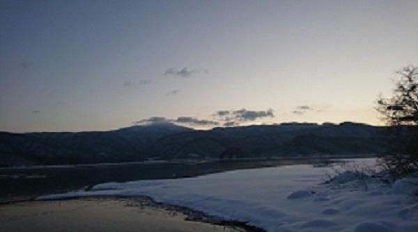 桧原湖2018.12.21