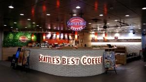シアトルズベストコーヒー 池袋サンシャイン60店