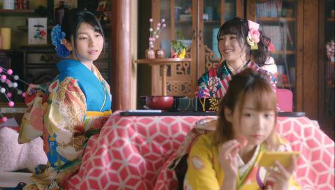 スマホゲーム「マギアレコード 魔法少女まどか☆マギカ外伝」年末年始CM (2018-2019)「おせち篇」