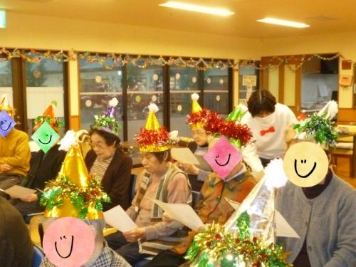 デイサービス 敬愛苑 12月 クリスマス会