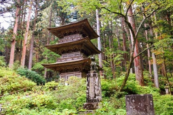 信州・北陸キャンプツーリング2018(光前寺)