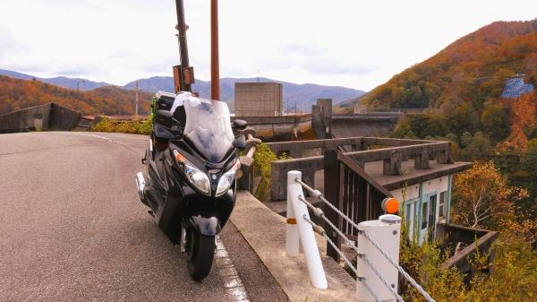 信州・北陸キャンプツーリング2018(有峰林道)