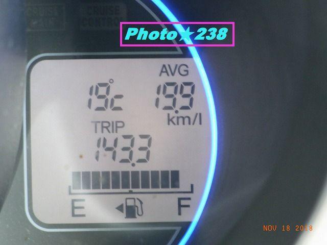 1118出発燃費。