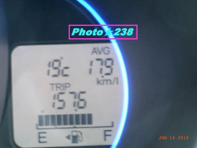 0114頑張った燃費。