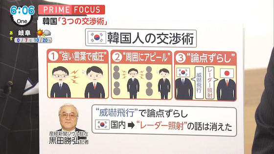 韓国 論点ずらし プロ被害者 プライムニュースイブニング フジテレビ