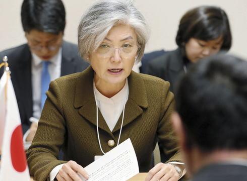 韓国・康京和外相、河野太郎外相との会談にて日本が打ち切り方針を決めた実務協議の継続を要請