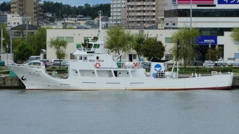 新潟県 漁業取締船「弥彦丸」