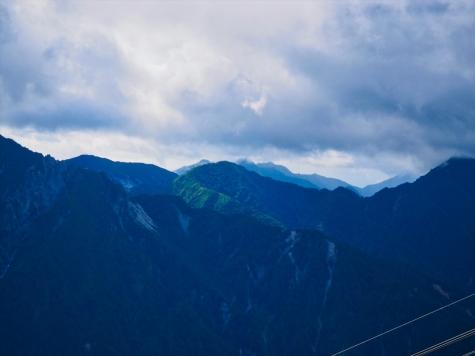 船窪岳・唐沢岳方向【黒部 大観峰より】