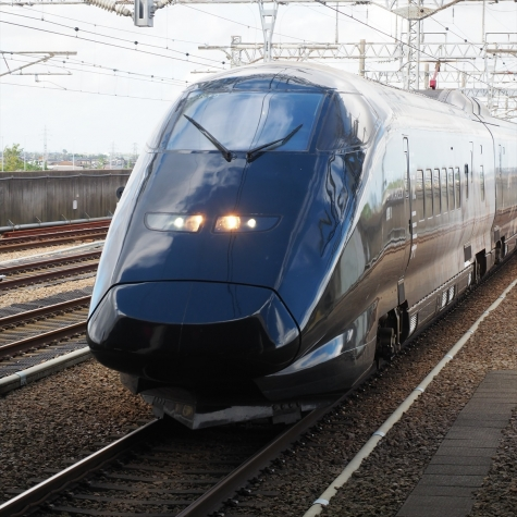 上越新幹線 E3系700番台 現美新幹線【燕三条駅】