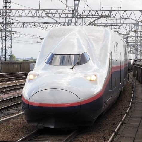 上越新幹線 E4系 Maxとき321号【燕三条駅】