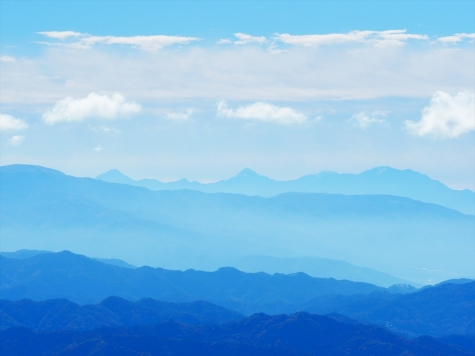 八ヶ岳方向【鷹狩山展望台より】