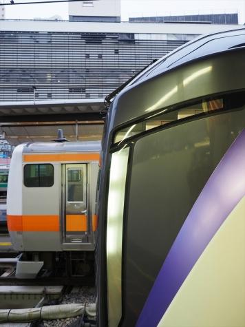JR東日本 E353系 特急スーパーあずさ1号【新宿駅】