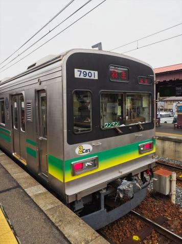秩父鉄道 7800系 電車【長瀞駅】