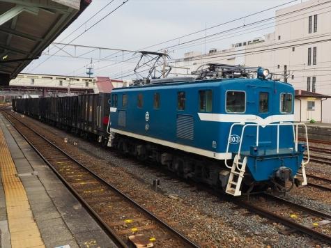 電気機関車 デキ103【寄居駅】