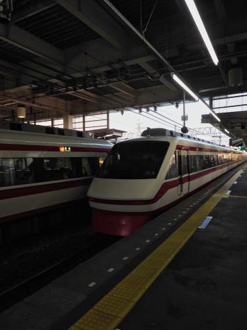 東武鉄道 200系 特急りょうもう21号・32号【館林駅】