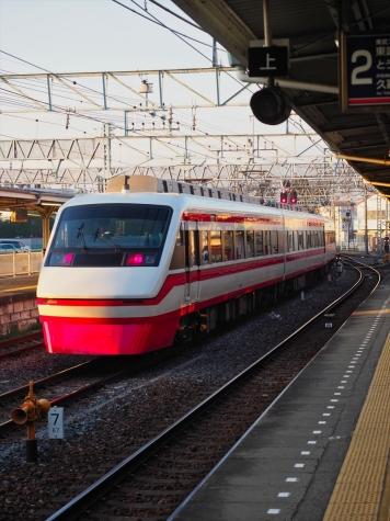 東武鉄道 200系 特急りょうもう21号【館林駅】