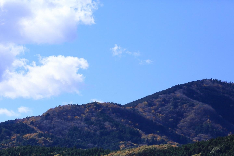 ブログ 里近くの山は秋の終わりを迎えつつあります.jpg