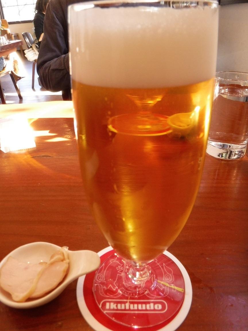ブログ 最後のランチ ビール.jpg
