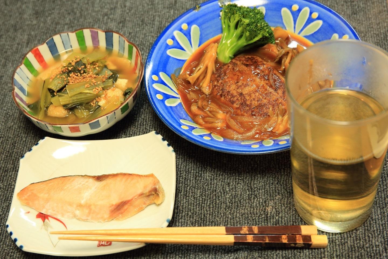 ブログ 煮込みハンバーグと小松菜の煮びたし.jpg
