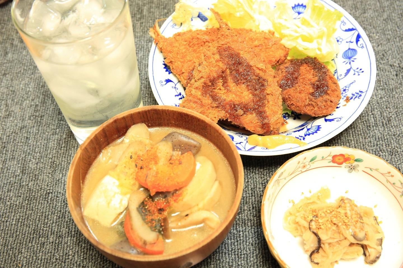 ブログ 夕食 おかずのケンチン定食.jpg