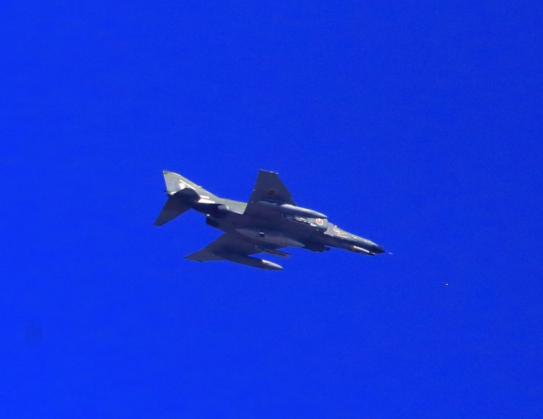 ブログ 偵察機のRF-4Eかな?.jpg