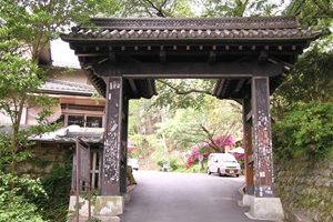 金峯山寺黒門
