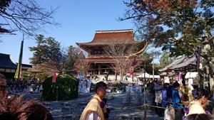 蔵王堂と山伏